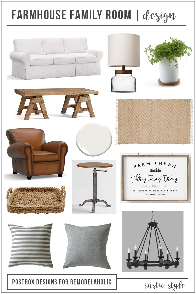 Remodelaholic | Modern Farmhouse Living Room for Just $1200!