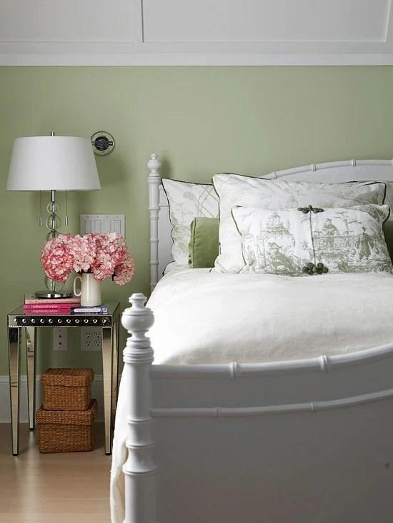 Sage Green Bedroom BHG