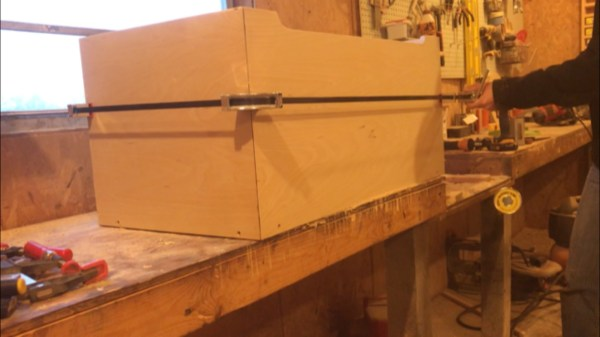 Woodshop Diaries Toy Box Clamp Up