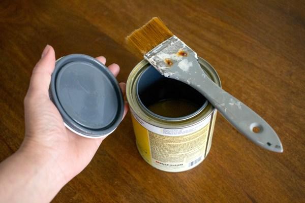 Brush Shellac Tannin Stain Primer 3000