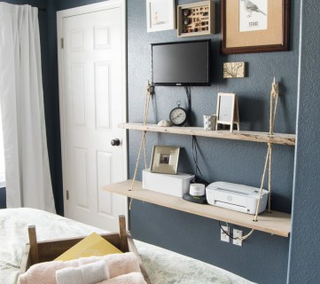 30+ Tutorials for DIY Wall Shelves