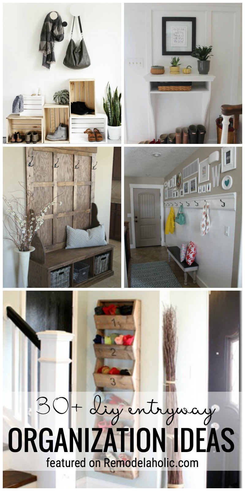 Create More Function In Your Entryway With Organization. 30+ DIY Entryway Organization  Ideas Featured
