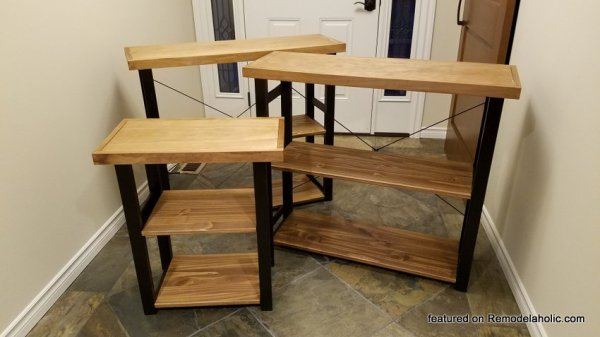 IKEA Hack Console Table Or Shelf 02