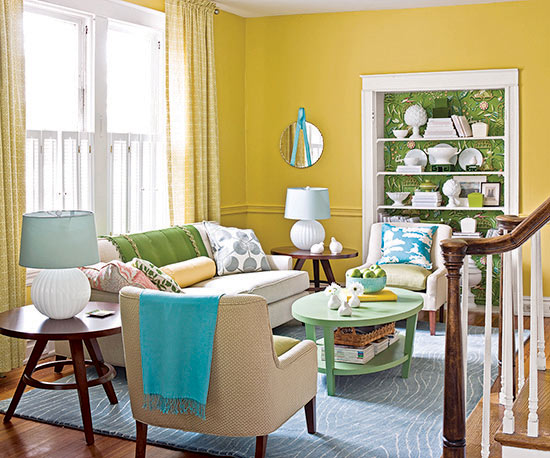 Remodelaholic Color Files BHG Layer It In