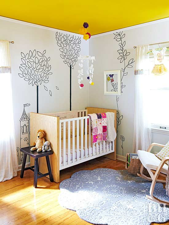 Remodelaholic Color Files Marigold BHG Fairy Tale Nursery