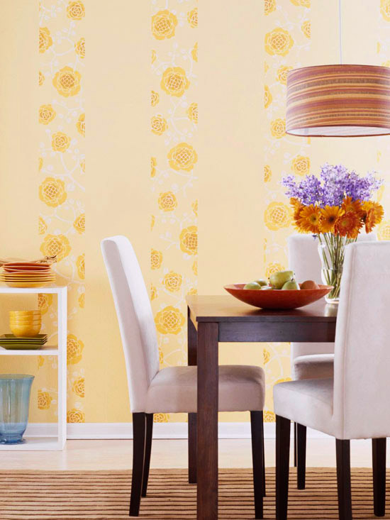 Remodelaholic Color Files Yellow BHG Dining Room