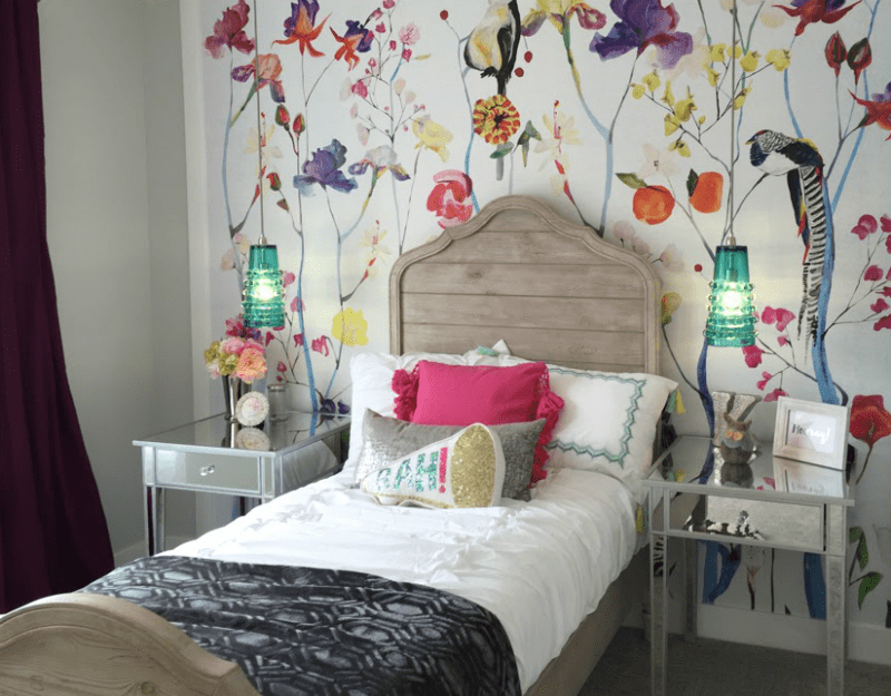 Remodelaholic   Get This Look: Colorful Eclectic Teen Girl ... on Teenager:_L_Breseofm= Bedroom Ideas  id=78253