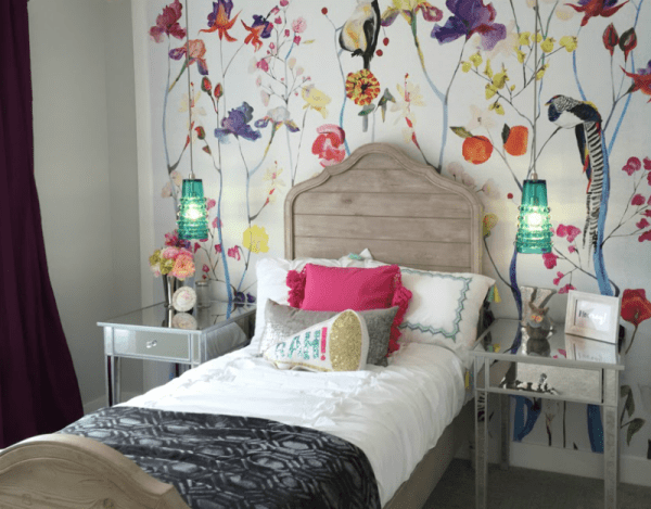 Remodelaholic Get This Look Colorful Eclectic Girl Bedroom Feature Image