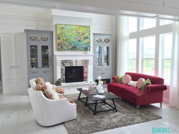 Remodelaholic Get This Look Jewel Toned Statement Living Room 1