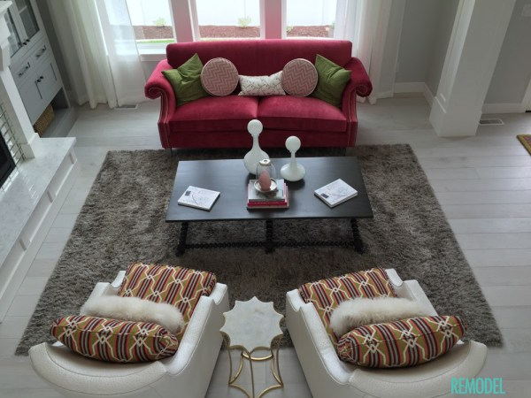 Remodelaholic Get This Look Jewel Toned Statement Living Room 3