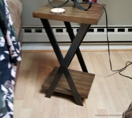 Reader Feature, X Side Table By Doug, Inspired By The Double X Console Table On #remodelaholic