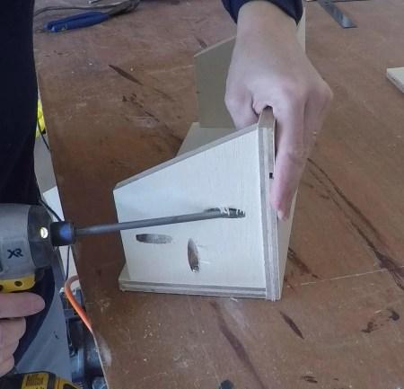 Remodelaholic Spice Cupboard Pocket Holes (16)