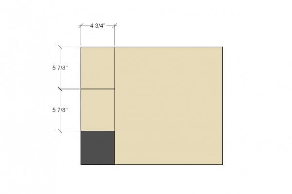 Remodelaholic Spice Cupboard Step 7 Drawer Sides