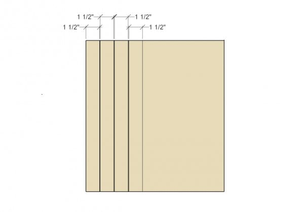 Remodelaholic Spice Cupboard Step 8 Feet Rail Stiles