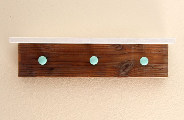 DIY Wood Wall Hanging Shelf ApieceofRainbowblog (12)