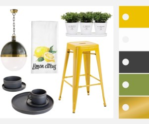 Featured Image Tips for Decorating a Sunny Yellow Kitchen #remodelaholic