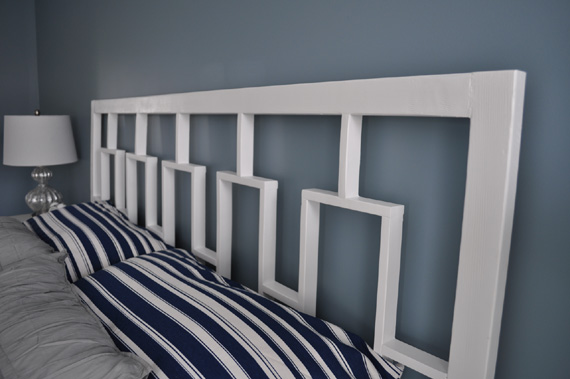 Headboard Tutorial, By Decor And The Dog Featured On @Remodelaholic
