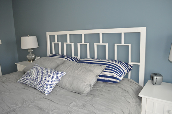 How To Build A Headboard, By Decor And The Dog Featured On @Remodelaholic