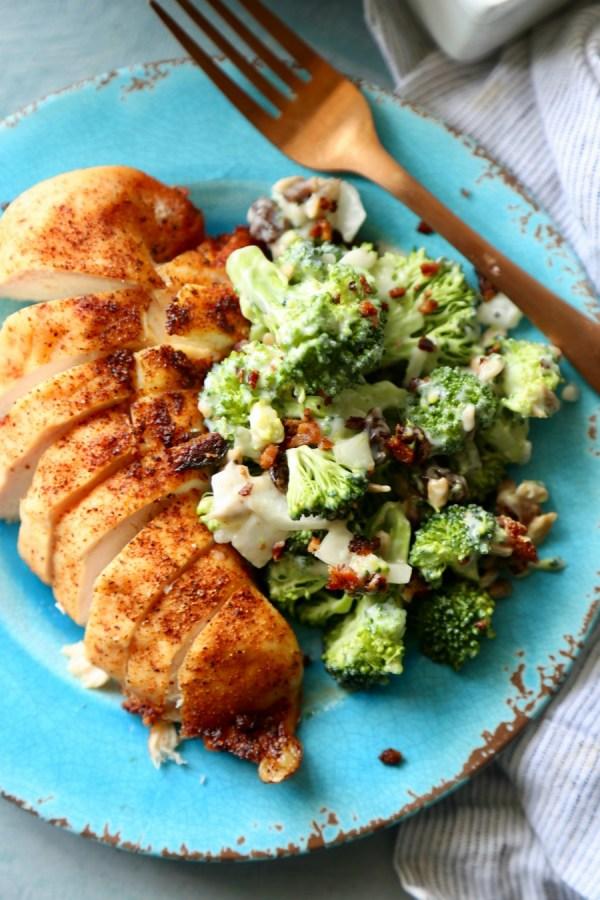Remodelaholic Recipe Broccoli And Bacon Salad 6