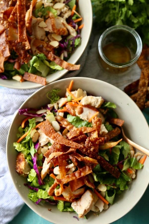 Remodelaholic Recipe Oriental Chicken Salad 5