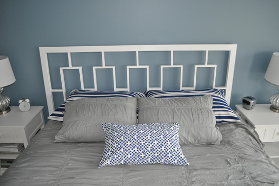 Cheap Headboard Ideas, DIY, By Decor And The Dog Featured On @Remodelaholic
