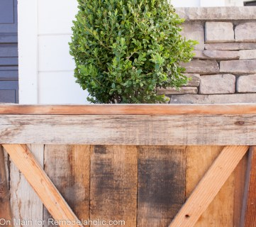 DIY Large Pallet Planters
