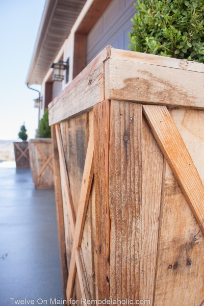 Diy Large Pallet Planter 9