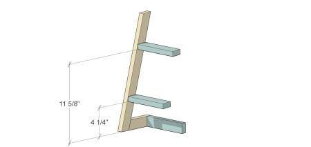 Ladder Utensil Holder (7)