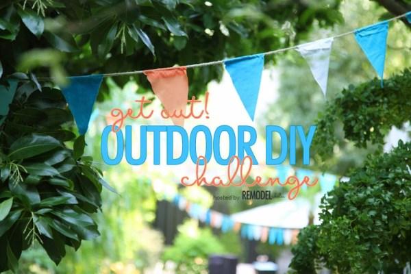 Outdoor Diy Challenge Button
