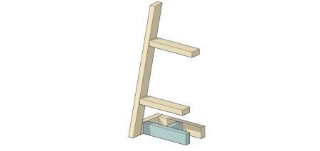 Remodelaholic Utensil Ladder (9)