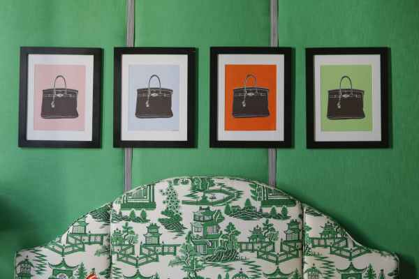 Bedroom Decorating with Jade Green
