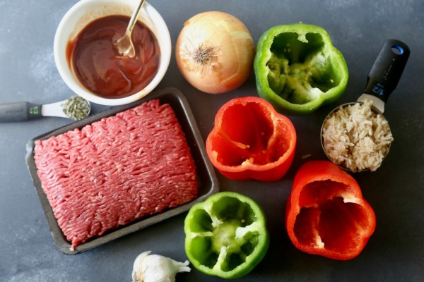 Remodelaholic Recipe Stuffed Bell Peppers 9
