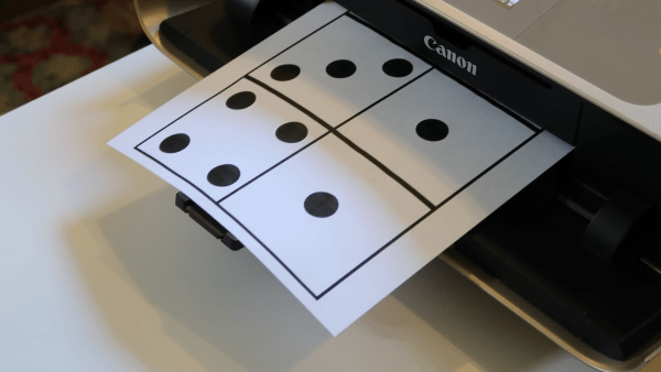 Free Printable Domino Templates, Canon Ip8720 #remodelaholic