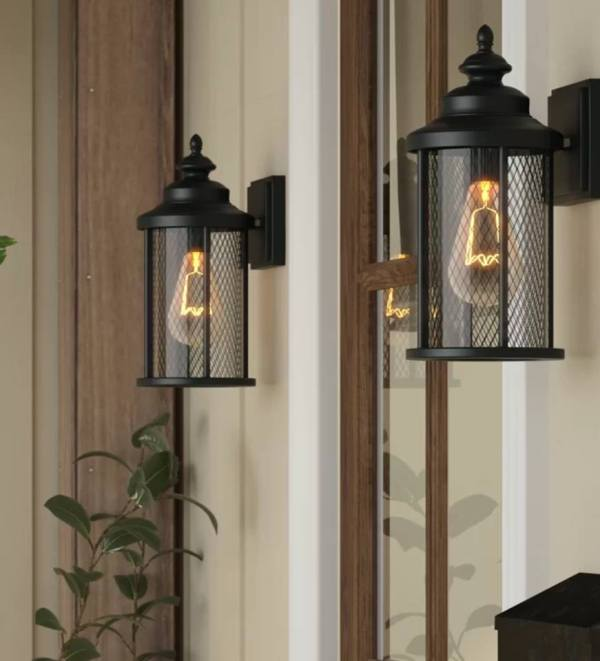 Industrial Outdoor Lanterns Remodelaholic