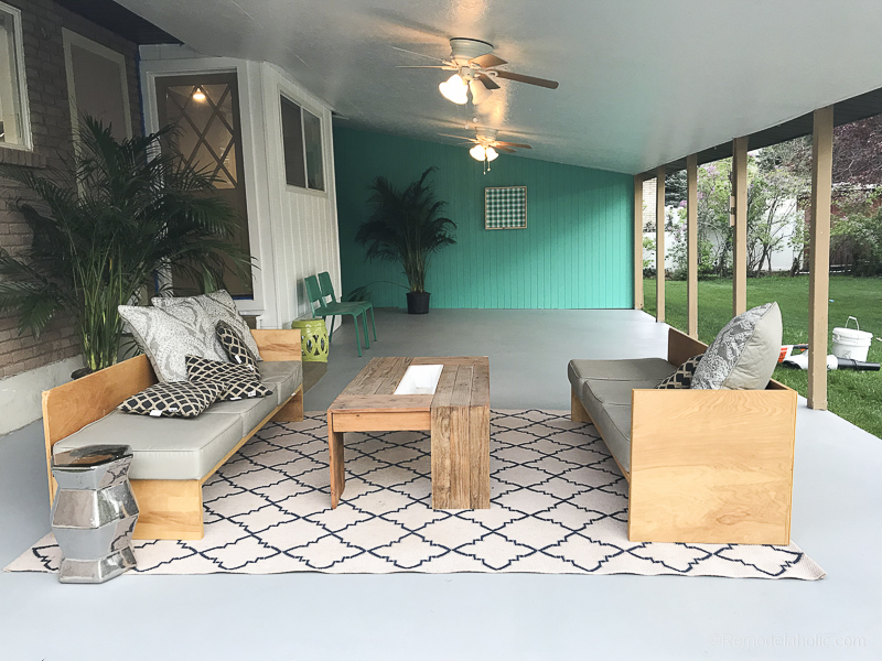 How To Paint A Concrete Patio With Tutorial Amp Tips