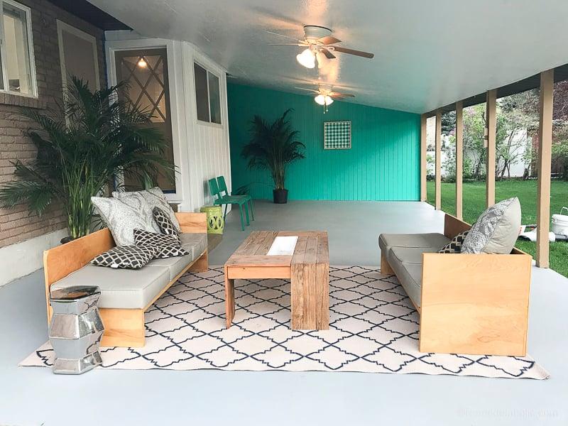 concrete patio ideas for a makeover
