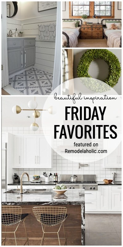 Friday Favorites: Beautiful Inspiration for the Home