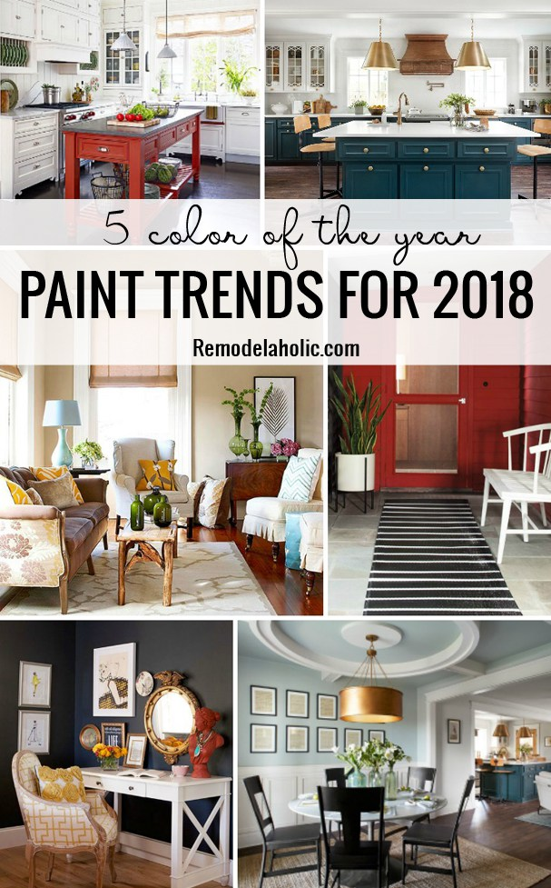 Remodelaholic 5 Color Of The Year Paint Trends For 2018jpg