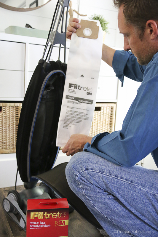 Vacuum Filters With Filtrete @Remodelaholic 23