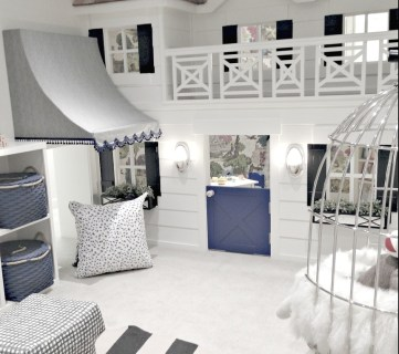 Amazing Cottage Playhouse Indoor Homeshow #remodelaholic