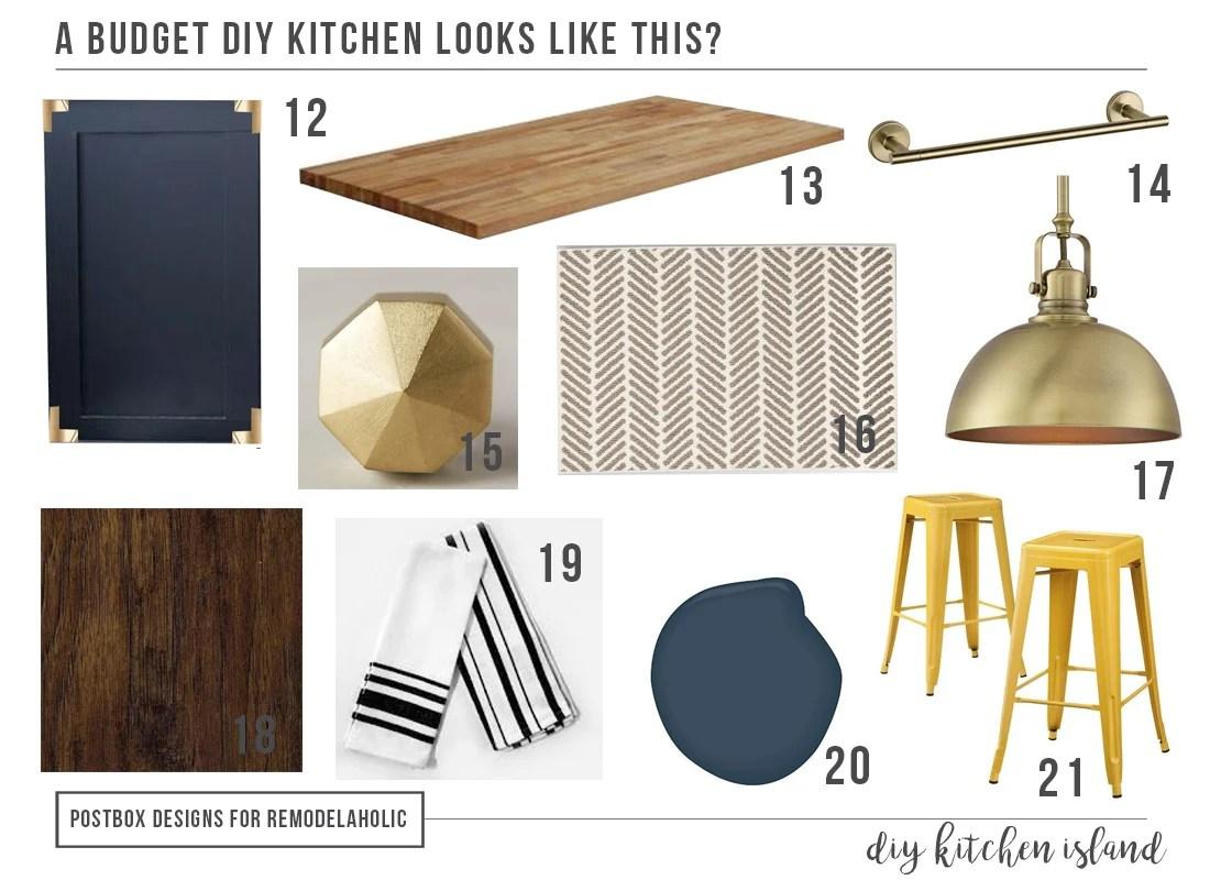 Postbox Designs: DIY Budget Kitchen Design