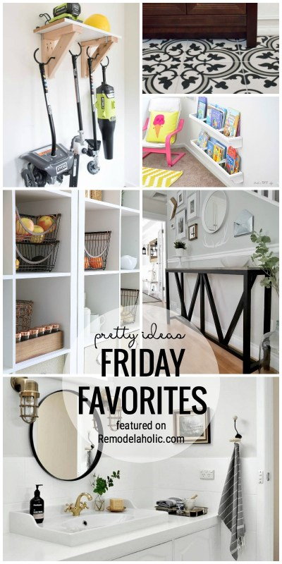 Find All Of The Pretty Things In This Week's Edition Of Friday Favorites Featured On Remodelaholic.com