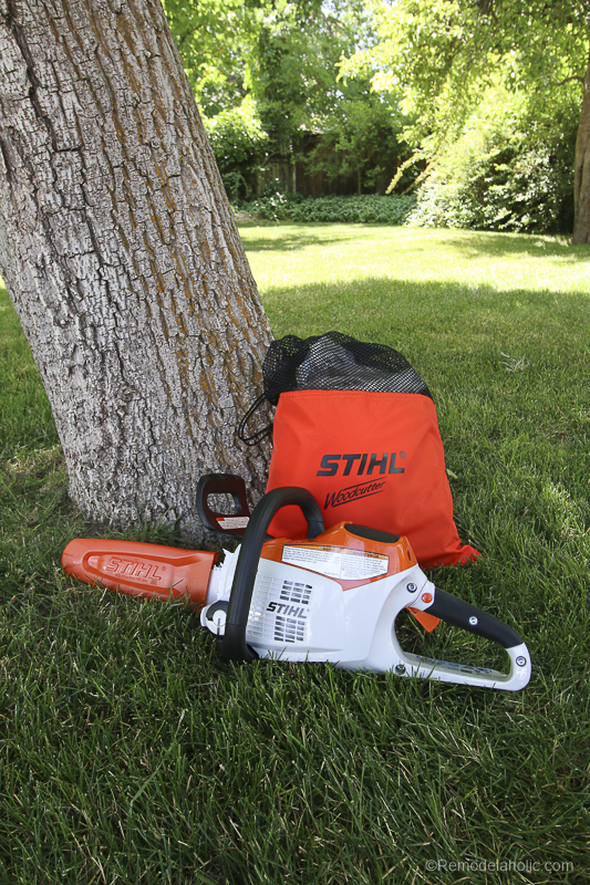 Stihl Chainsaw Safety Considerations @Remodelaholic 77
