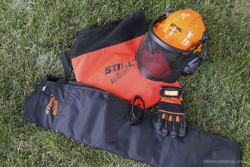 Stihl Chainsaw Safety Considerations @Remodelaholic 78