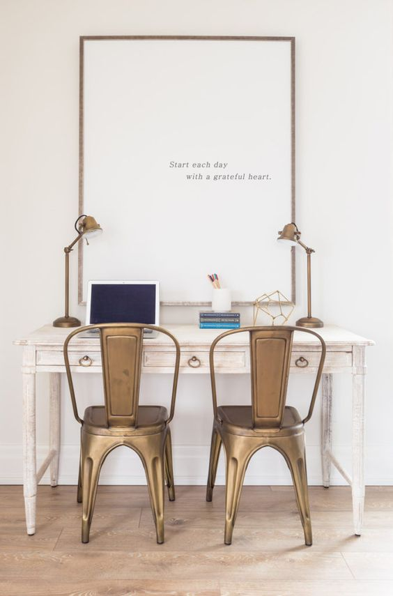 Inspiration: Create a Small Space Homework Station or Home Office This Back to School Season | Postbox Designs for #Remodelaholic