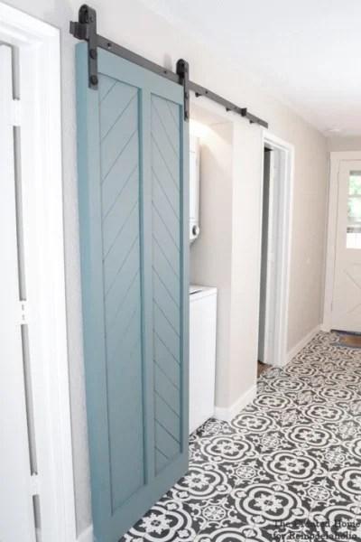 Interior Door To Sliding Barn Door #remodelaholic