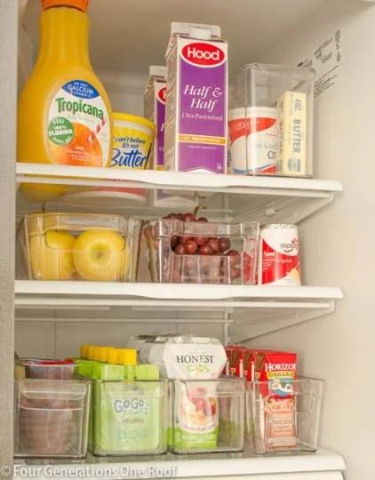 8 Easy Ways To Organize Your Refrigerator And Freezer