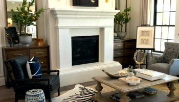 Remodelaholic | Get This Look: Modern Transitional Style Living Room