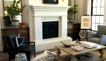 Remodelaholic Modern Farmhouse Living Room For Just 1200