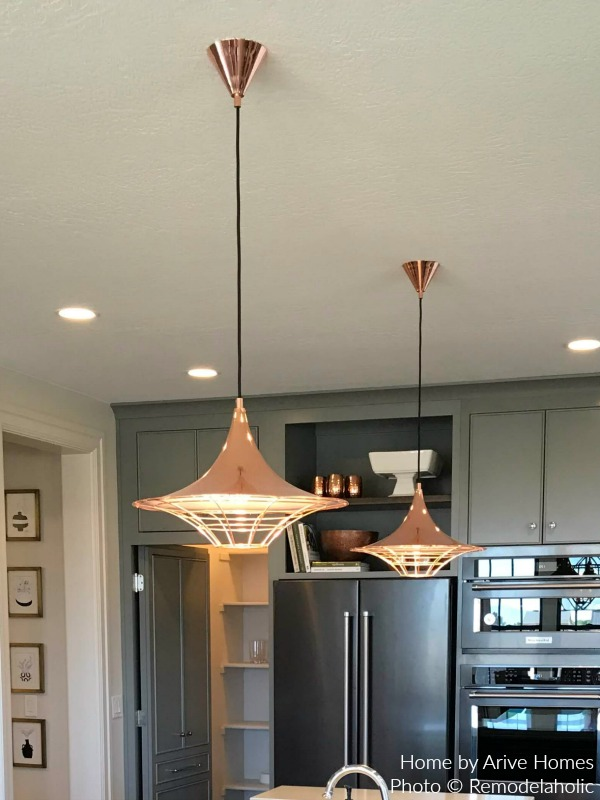 Industrial Pendant Lighting In The Kitchen For A Modern Farmhouse Look